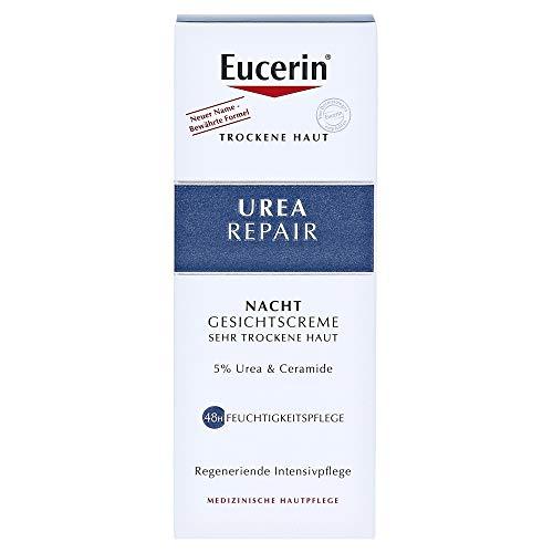 Eucerin UreaRepair Gesichtscreme 5% Nacht, 50 ml
