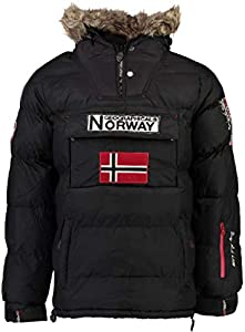 Geographical Norway Parka Hombre BOKER Negro M