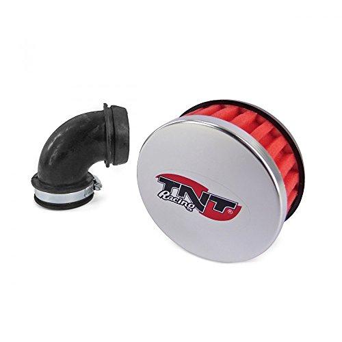 Filtro de Aire TNT R Box, acodado 90Grados, Rojo
