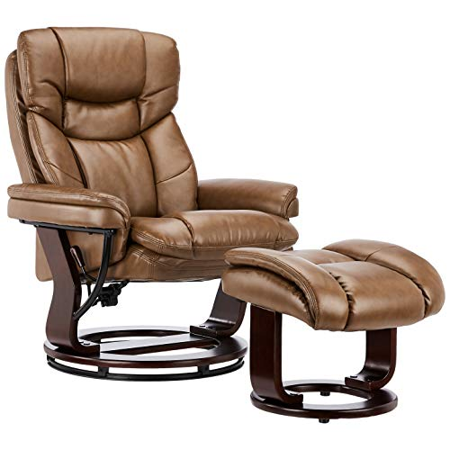 JC Home Recliner With Ottoman