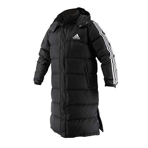 adidas Herren Long Parka, Schwarz/Weiß, XL