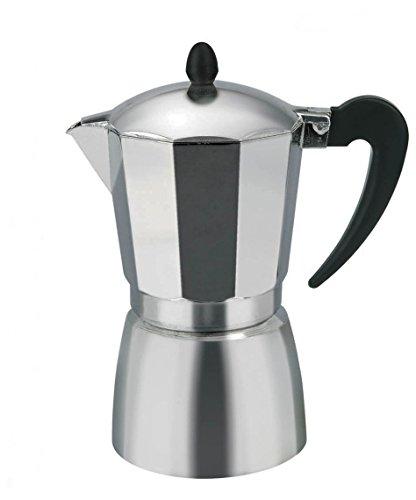 Borella Casalighi BETA Espressokocher 2Tassen, Aluminium, Grau