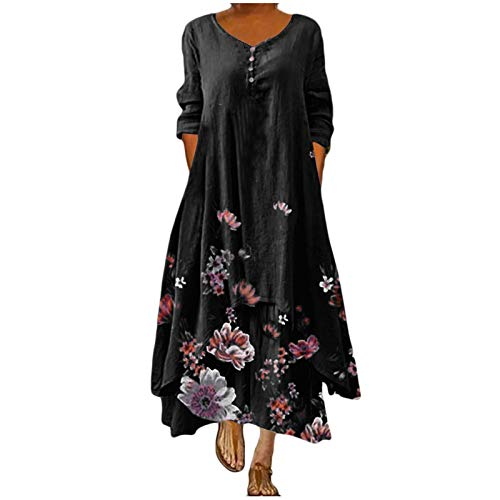 Shaloly Dresses for Women Casual, Women's Long Maxi Dress Sexy Plus Size Summer Party Dress -  1