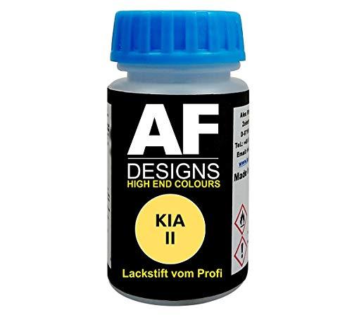 Lackstift für KIA II Fresh Yellow schnelltrocknend Tupflack Autolack