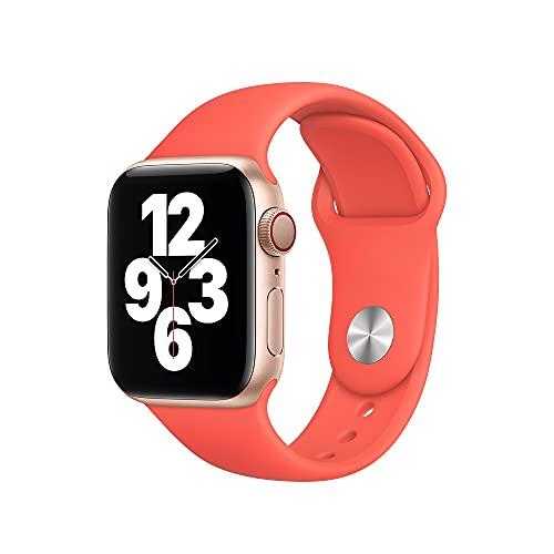Apple Watch (40mm) Sportarmband, Zitruspink - Regular