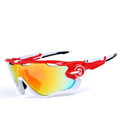 Opel-R Conducción Al Aire Libre Polarizado Deporte Ocio Material Playa Gafas de Sol/Gafas de Gafas C, Contiene Cinco Variedad de Lentes de Decoración , 6Subsection