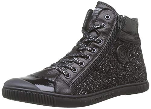 Pataugas Damen Bono/g F4e Hohe Sneaker, Schwarz (Noir 850), 40 EU