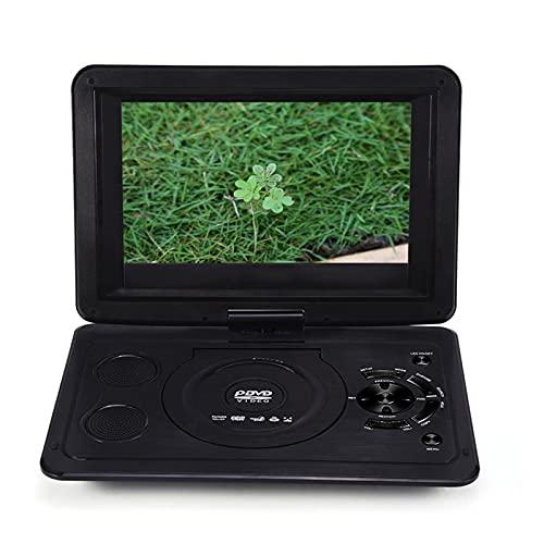 Reproductor De DVD Portátil con Pantalla Giratoria De 13,9 '' Compatible Compatible con AVI EVD DVD, SVCD, VCD, CD, CD-R/RW Y MPEG-4 Y Otros Formatos De Discos Y Formato De Imagen JPG