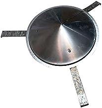 Sombrero Extractor, para Estufa Pellet, Leña, Chimenea, Extracción De Humos, para Tubo 26Cm