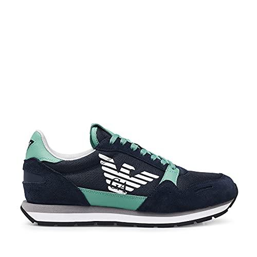 Emporio Armani Sneakers Scarpe Blu X4X215 XL198-C898 Uomo