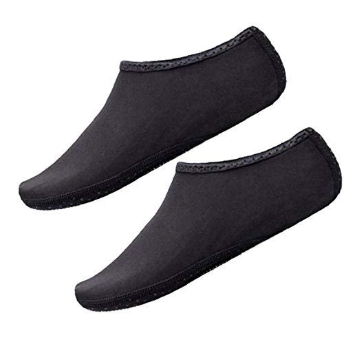 Aisoway Aqua Calcetines De Agua Zapatos Calcetines Yoga Descalzas De Secado Rápido Zapatos De La Resaca De Natación Para El Snorkel Kayak Surf Baño Vela Buceo Hombres De Las Mujeres