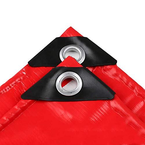 JY & WIN dekzeil dik met oogjes zware waterdicht ideaal voor auto's, boten, bouwbedrijven, campers, noodvakantie (maat: 4 m en 6 m) 3 x 6 m.