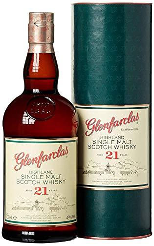 petit un compact Whisky single malt Glenfarclas 21 ans 70cl