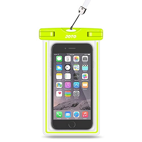 Universal Waterproof Case, JOTO Cell Phone Dry Bag for Apple iPhone 6S 6,6S...