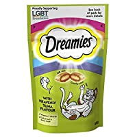 Dreamies Cat Treats with Tuna 60g (PACK OF 2) 60g (x2) Dreamies Quantity: 2