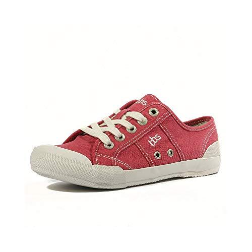 TBS Opiace, Damen Sneakers , Rot - Rot - Rouge (Rubis) - Größe: 39