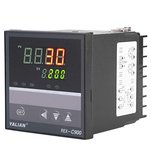 AC100V-240V Regulador de Temperatura Inteligente Digital PID Salida de Relé del Termómetro de Alta Precisión
