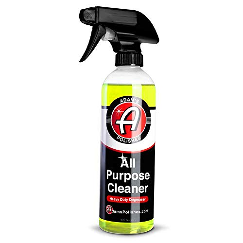 Adam's Heavy Duty All Purpose Cleaner & Degreaser - Powerful, Professional Strength Formula That Easily Cuts Heavy Grease & Tar, Tire Cleaner, Engine Bay Cleaner, and More (16 oz)