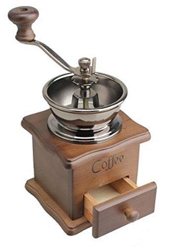 ReaLegend Molinillo de café Manual Coffee Grinder Ceramics Square