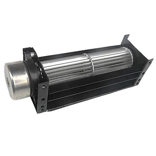 Lruirui-Motor DC Motor sin escobillas DC 12V, para máquina de Cinta de Cortina de Aire Máquina de Ventilador de refrigeración dedicada, Ventilador de Flujo Transversal Mute RODILLER, Larga Vida útil