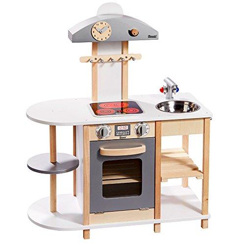 Howa Spielküche Deluxe Holz mit LED Kochfeld 4815