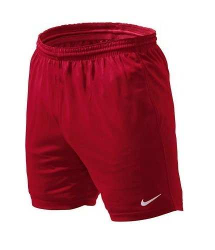 NIKE Park - Pantalones de fútbol para Hombre, tamaño XL, Color Rojo/Blanco