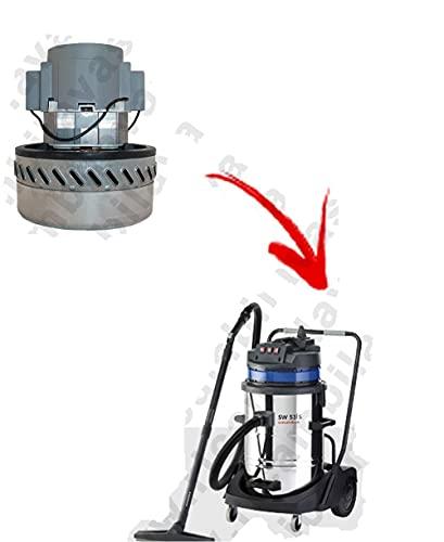 SW53 - Motor de aspiración Ametek para aspiradora COLUMBUS