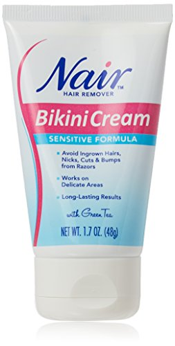 Sensitive Formula Bikini Cream with Green Tea Hair Remover by Nair Now $1.77 (Was $5.99)
