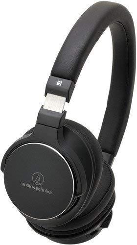 Audio-Technica ATH-SR5BT - Auriculares (Inalámbrico y alámbrico, Diadema, Binaural, Circumaural, 5-40000 Hz, Negro)