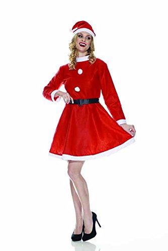Rubie's IT00002 - Mamma Natale Eco Costume, Adulto, Taglia Unica