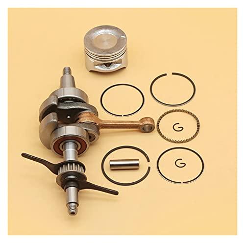 Juego de motor de cojinete de cigüeñal de anillos de pistón de 39 mm compatible con H-ONDA GX35 GX 35 Motor de 4 tiempos Motor Generador Cortacésped Accesorios 13310-Z0Z-000