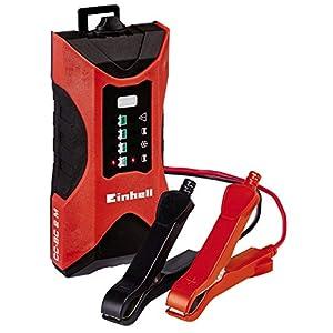 Einhell CC-BC 2 M Outdoor Battery Charger Negro, Rojo – Cargador (220-240, 3 Ah, 60 Ah, 2 A, 68 mm, 147 mm)