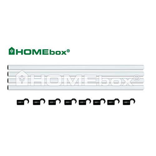 Homebox Fixture Poles 120 (Stangenset 22mm)