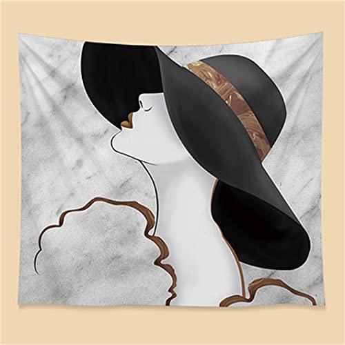 YYRAIN Tapiz De Hoja Nórdico Toalla De Playa Multifuncional Decoración del Hogar Cubierta De Cama 130cm x 150cm{Width×Height} A