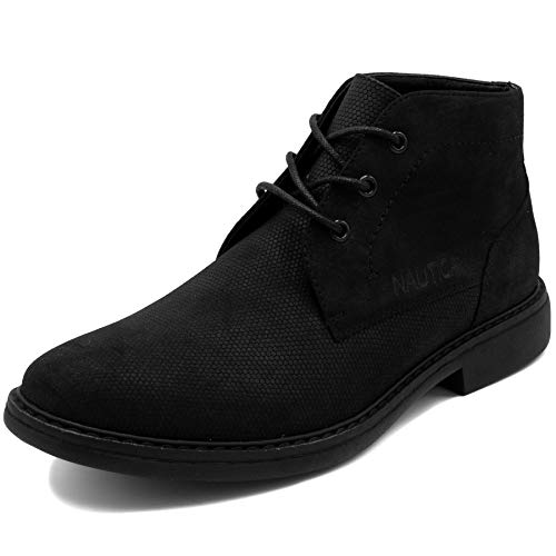 Nautica Men's Vega Chukka Boot Lace Up Ankle Shoe Oxfords Desert Boots