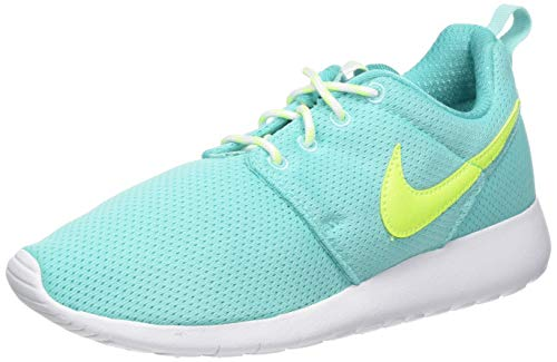 Nike Unisex-Kinder Roshe One Gs Laufschuhe, Türkis (Turquoise 599729-302), 38.5 EU