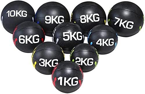 RRB Slam Ball Conjuntos de balones medicinales RRB Fitness Slam Ball Pesos Core Strength Training Wall Ball para Home Gym Workout Ejercicio de Pelota (Color: Style5)-Estilo5