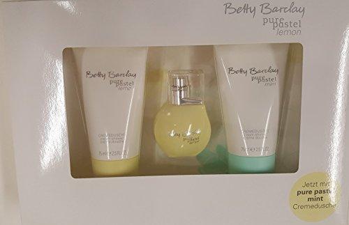 Betty Barclay Pure Pastel Lemon 3-er Set Geschenkset mit 20 ml Eau de Toilette (+Mint)