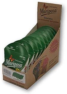 Mariposa Cristales Verde Ultramar 667 Colectiva con 10 Piezas