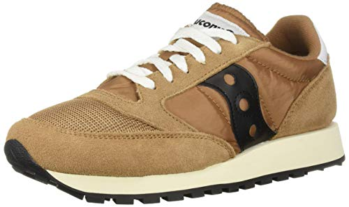 Saucony Jazz Original Vintage, Zapatillas para Hombre, Marrón (Brown/Black 47), 42 EU