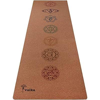 Valka Cork Yoga Mat (Chakras)