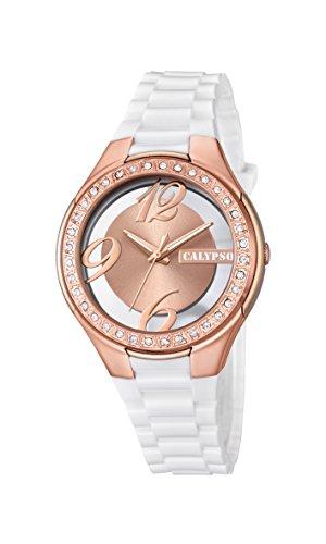 Calypso Reloj Análogo clásico para Mujer de Cuarzo con Correa en Plástico K5679/7