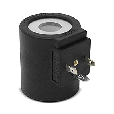 """zt truck parts 12V Solenoid Valve Coil 3 Prong DIN Connector 6356012 Fit for HydraForce Stems (5/8"""" Hole) 10, 12, 16, 38 and 58 series by HydraForce"""