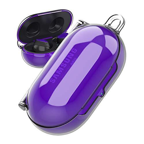 araree [Buddy] Schutzhülle aus Polycarbonat für Galaxy Buds und Buds+, transparent und hart, Keine Kleberückung, kompatibel mit Samsung Galaxy Buds und Buds Plus farblos