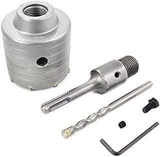 Wocume TCT Core Drill Set SDS Plus Extension Shank Tungsten Masonry Hole Cutters 10Pcs