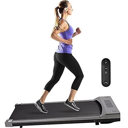 Walking Laufband Für Zuhausebis Walking Pad 3.7 MPH Leiser Motor Treadmill Pro Desk Laufband, Kein Joggen Möglich, Tüv-Geprüfte Sicherheit Bis 242lb Im Büro