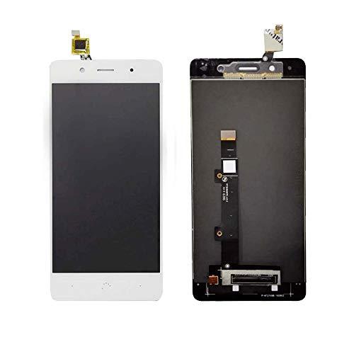 JayTong - visualización LCD y digitalizador de visualización táctil de Repuesto para BQ Aquaris X5 Plus Blanco