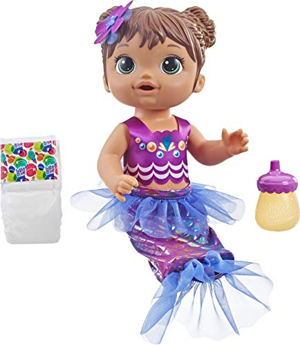 Baby Alive Shimmer N Splash Mermaid (Brown Hair)