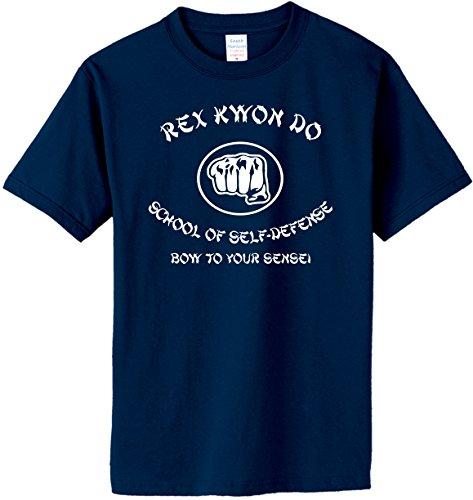 South Horizon REX Kwon DO School of SELF Defense T-Shirt~Navy Blue~Adult 2X
