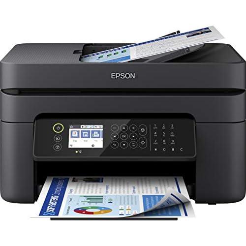 Epson WorkForce WF-2850DWF, Stampante a colori, Wi-Fi+USB (anche da mobile), Multifunzione 4 in 1, Display LCD da 6.1 cm, Funzioni per la Stampa in Ufficio